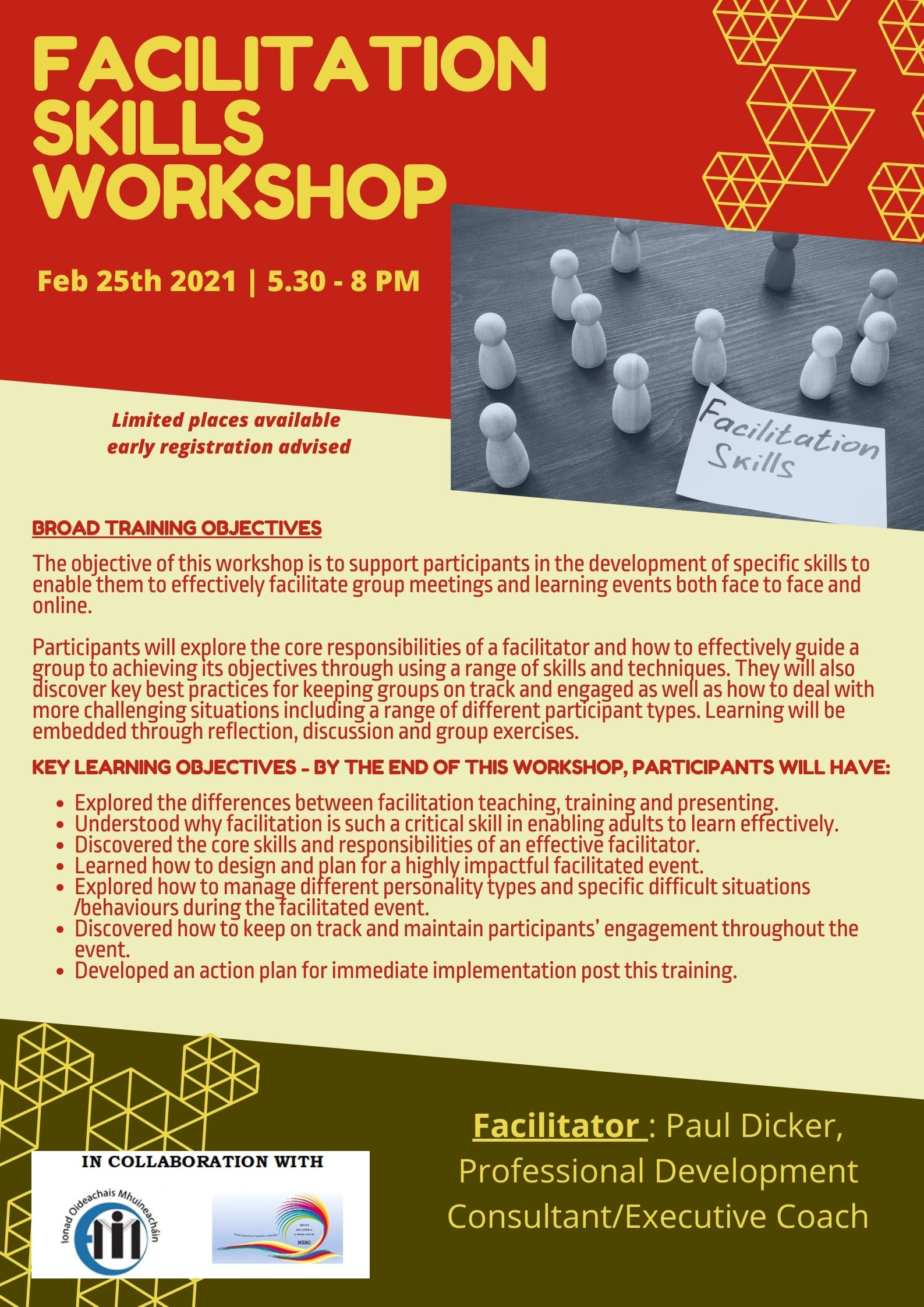 feb 25 facilitation skills workshop